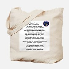 Caylee's Law All 50 States Tote Bag