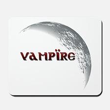 Vampire Moon Mousepad