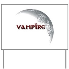 Vampire Moon Yard Sign