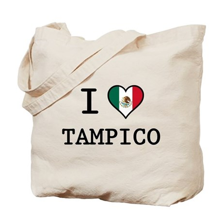 I Love Tampico Tote Bag