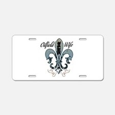 oilfield wife Aluminum License Plate