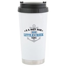 US Navy Little Creek Base Travel Mug