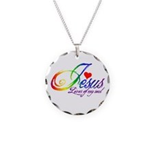 Jesus Lover of my soul primar Necklace Circle Char