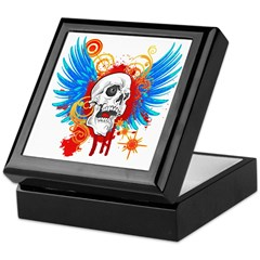 Demon Hunter Death Angel Bike Keepsake Box