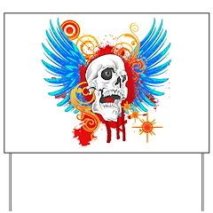 Demon Hunter Death Angel Bike Yard Sign