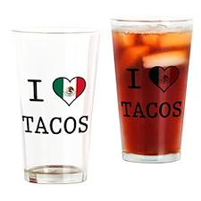 I Love Tacos Pint Glass