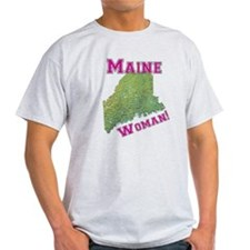 Maine Woman T-Shirt