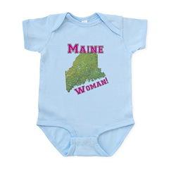 Maine Woman Infant Bodysuit