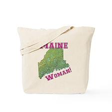 Maine Woman Tote Bag