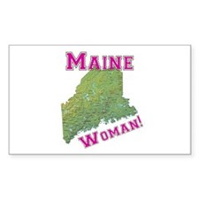 Maine Woman Decal