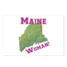 Maine Woman Postcards (Package of 8)