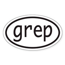 grep Euro Oval Decal