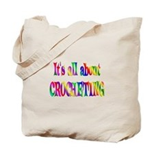 About Crocheting Tote Bag