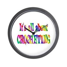 About Crocheting Wall Clock