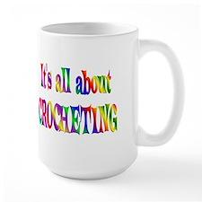 About Crocheting Mug