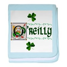O'Reilly Celtic Dragon Art baby blanket