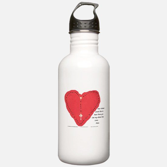 Mom's Direct Line - Water Bottle