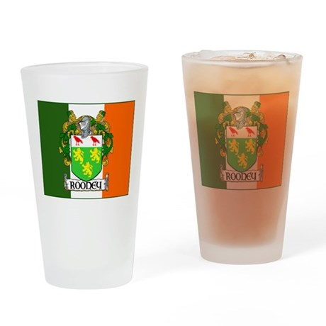 Rooney Arms Flag Pint Glass