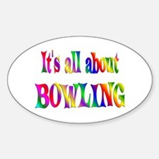 About Bowling Decal