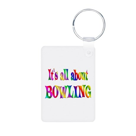 About Bowling Aluminum Photo Keychain