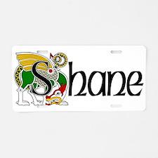 Shane Celtic Dragon Aluminum License Plate