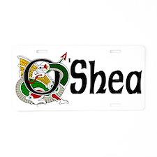 O'Shea Celtic Dragon Aluminum License Plate