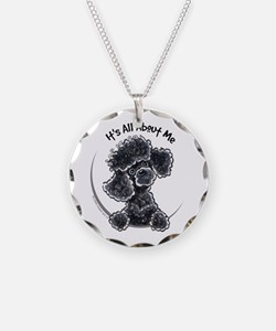 Black Poodle Lover Necklace