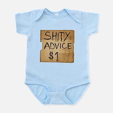 Shitty advice Infant Bodysuit
