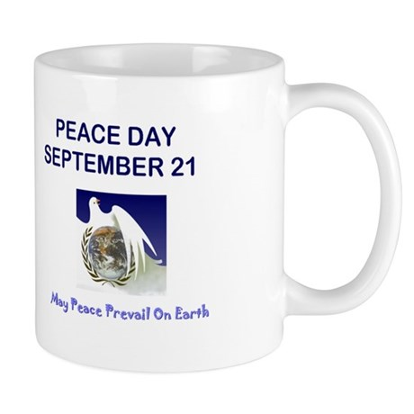 Peace Day Countdown Mug Mugs