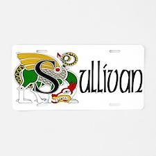 Sullivan Celtic Dragon Aluminum License Plate