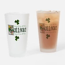Sullivan Celtic Dragon Pint Glass