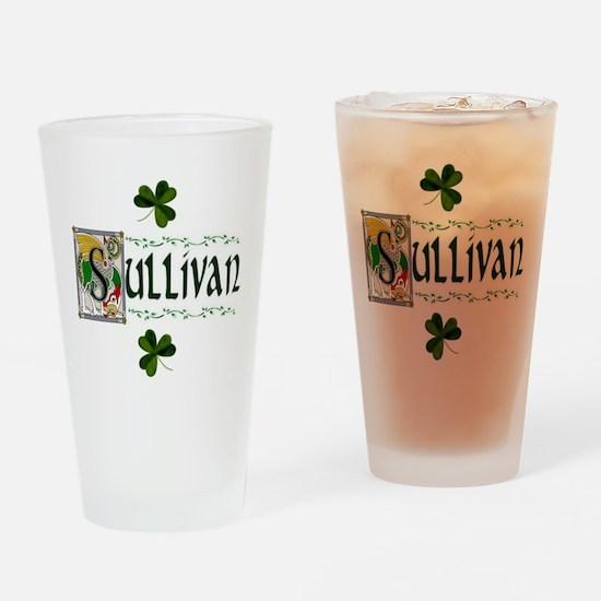 Sullivan Celtic Dragon Pint Glass