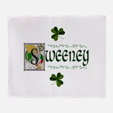 Sweeney Celtic Dragon Throw Blanket