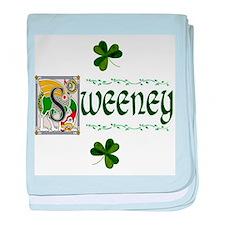 Sweeney Celtic Dragon baby blanket