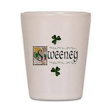 Sweeney Celtic Dragon Shot Glass