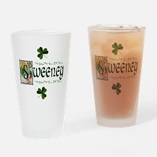 Sweeney Celtic Dragon Pint Glass