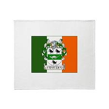 Sweeney Arms Flag Throw Blanket