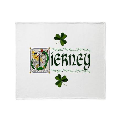 Tierney Celtic Dragon Throw Blanket