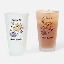 Perinatal Social Worker Pint Glass