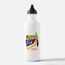 Happy Retirement Water Bottle