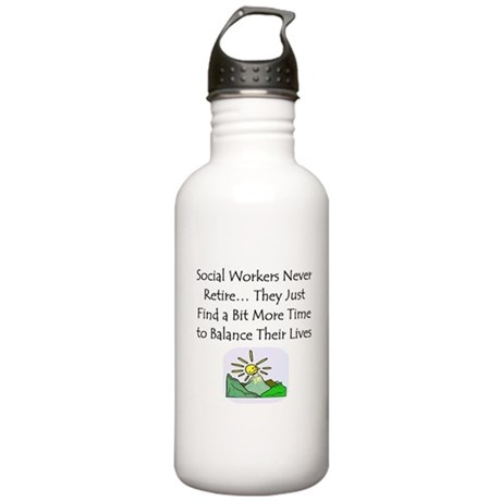 Retirement Gifts Stainless Water Bottle 1.0L
