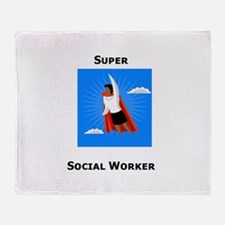 Unique Social work month Throw Blanket