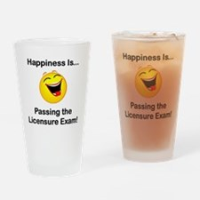 Happiness is Licensure Pint Glass