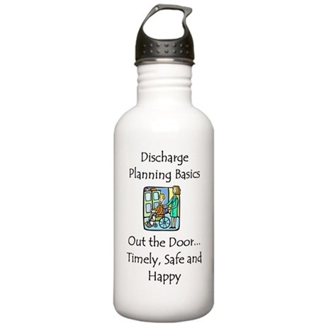Discharge Planning Stainless Water Bottle 1.0L