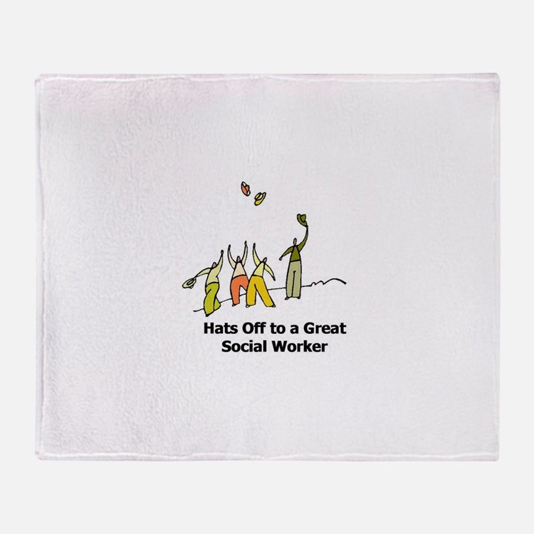Hats Off Throw Blanket