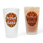 Proud BABA Pint Glass