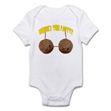 Where's the party? Infant Bodysuit