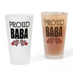 Proud BABA (2) Pint Glass