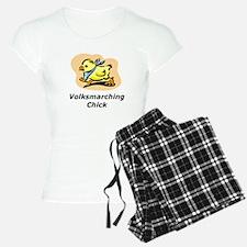 Volksmarching Chick Pajamas