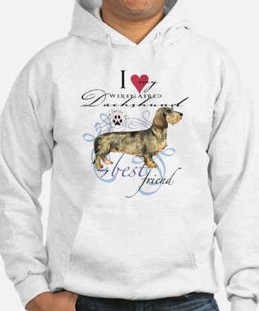 Wirehaired Dachshund Hoodie